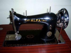 maquina de bordar alfa